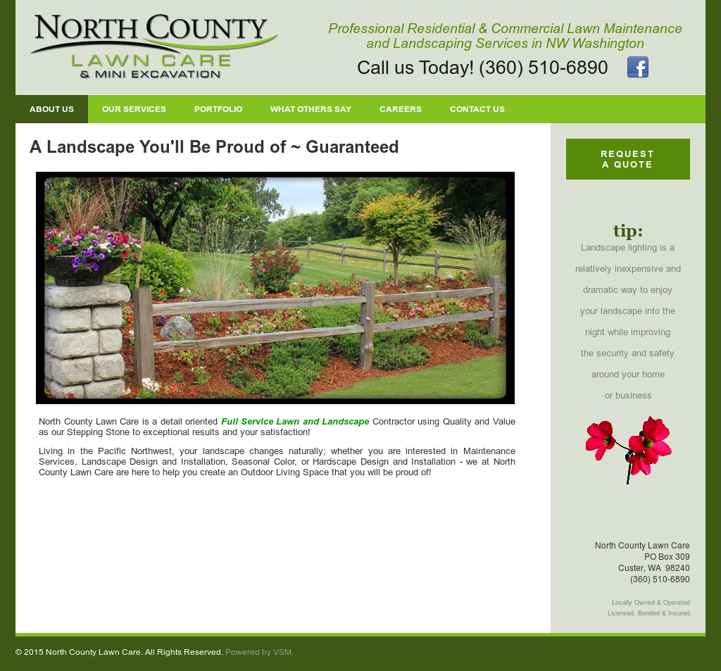 North County Lawn Care Compeors Revenue And Employees Owler Company Profile