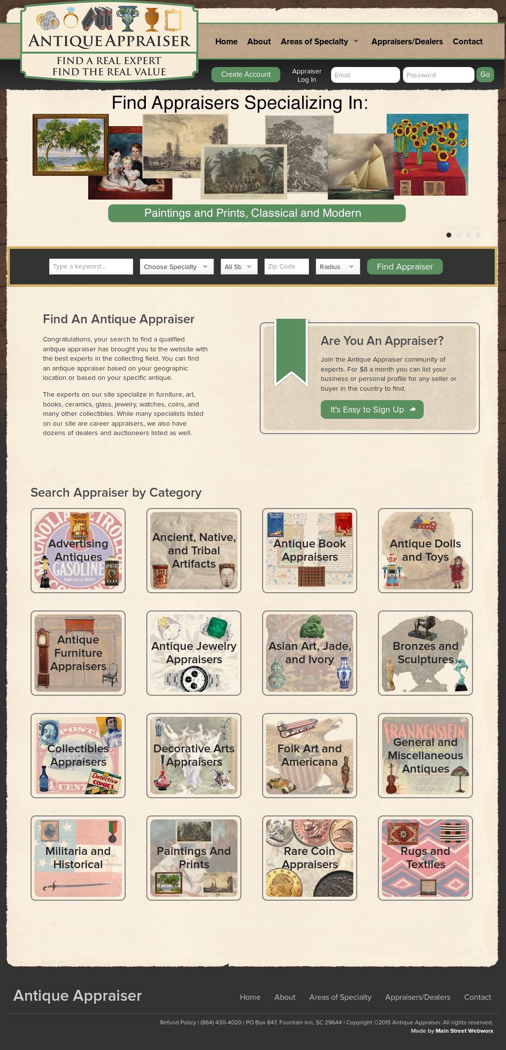 Antique Appraiser Competitors, Revenue and Employees - Owler Company Profile - Antique Appraiser Competitors, Revenue And Employees - Owler Company