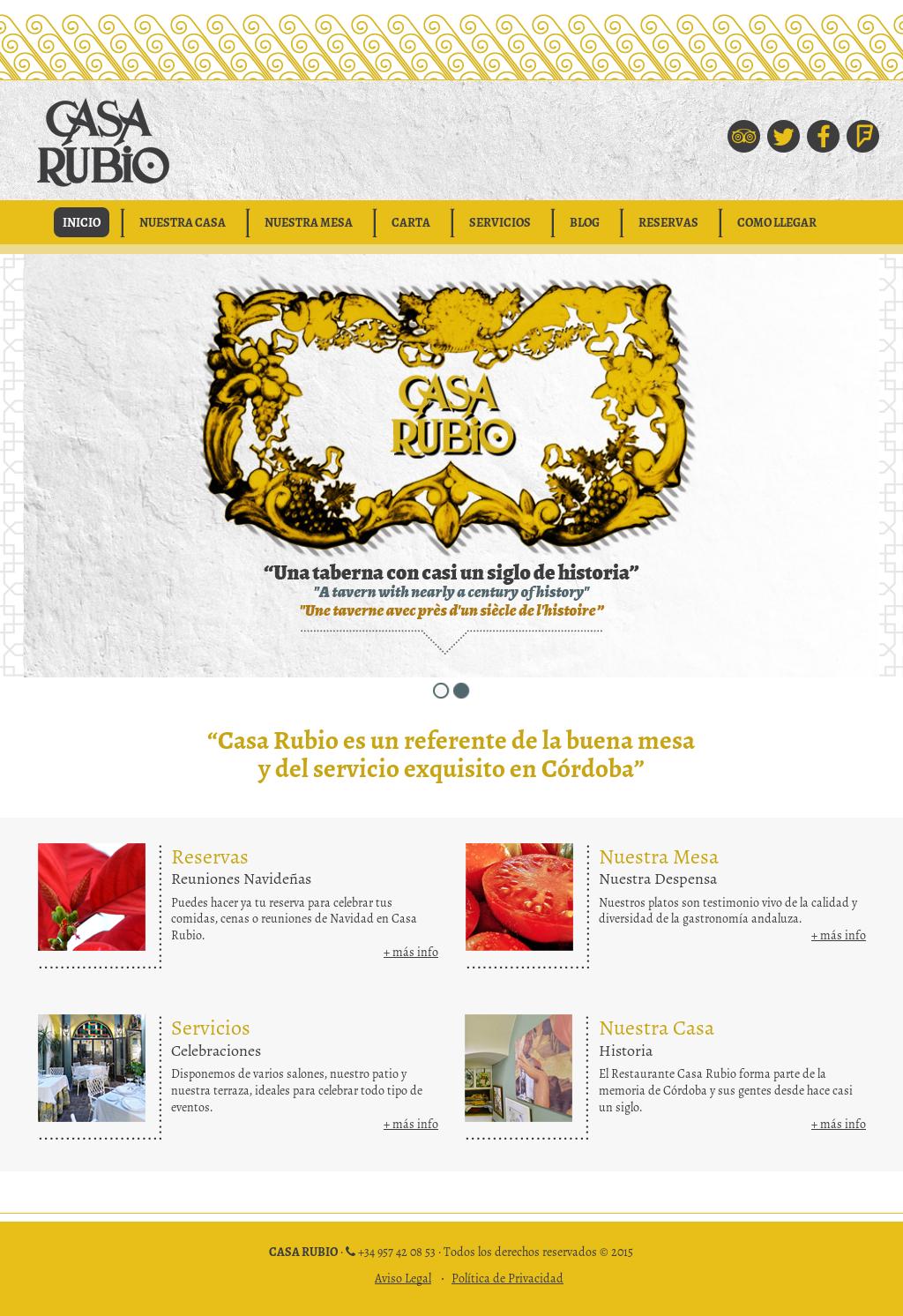 Restaurante Casa Rubio Competitors Revenue And Employees
