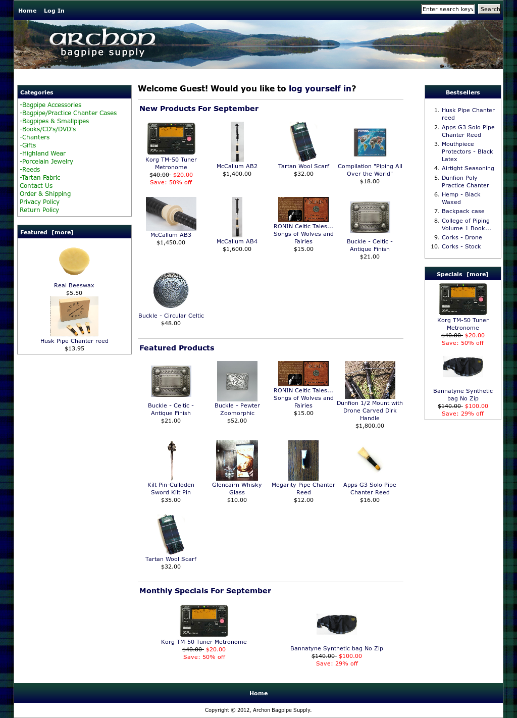 Archon Bagpipe Supply Competitors, Revenue and Employees - Owler