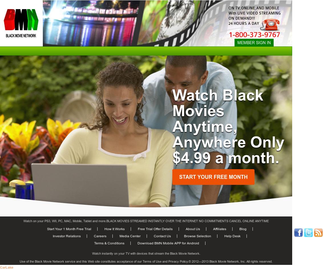 Black movie network