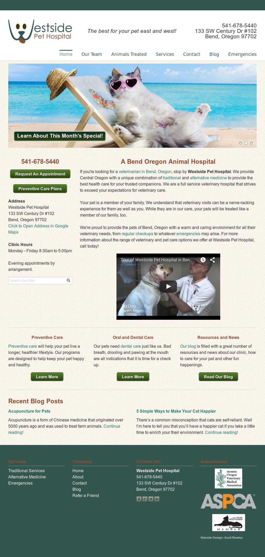 Westside Pet Hospital Bend Competitors, Revenue and