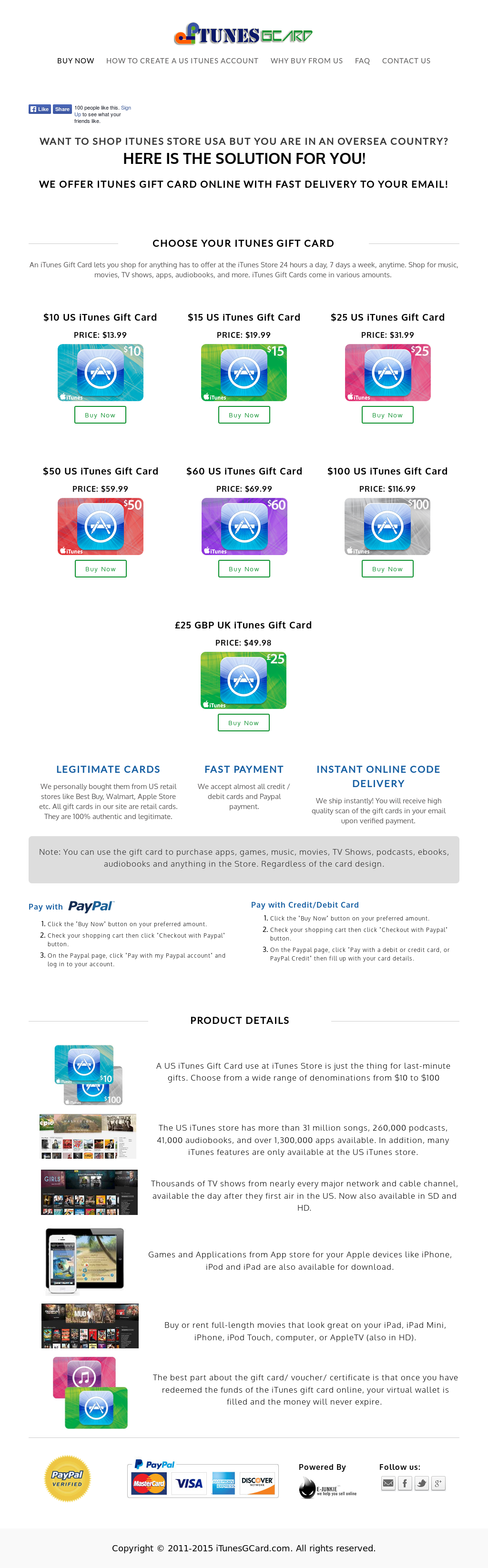 Itunes Gift Card Instant Online Delivery Itunesgcard Competitors Us 50 Revenue And Employees Owler Company Profile