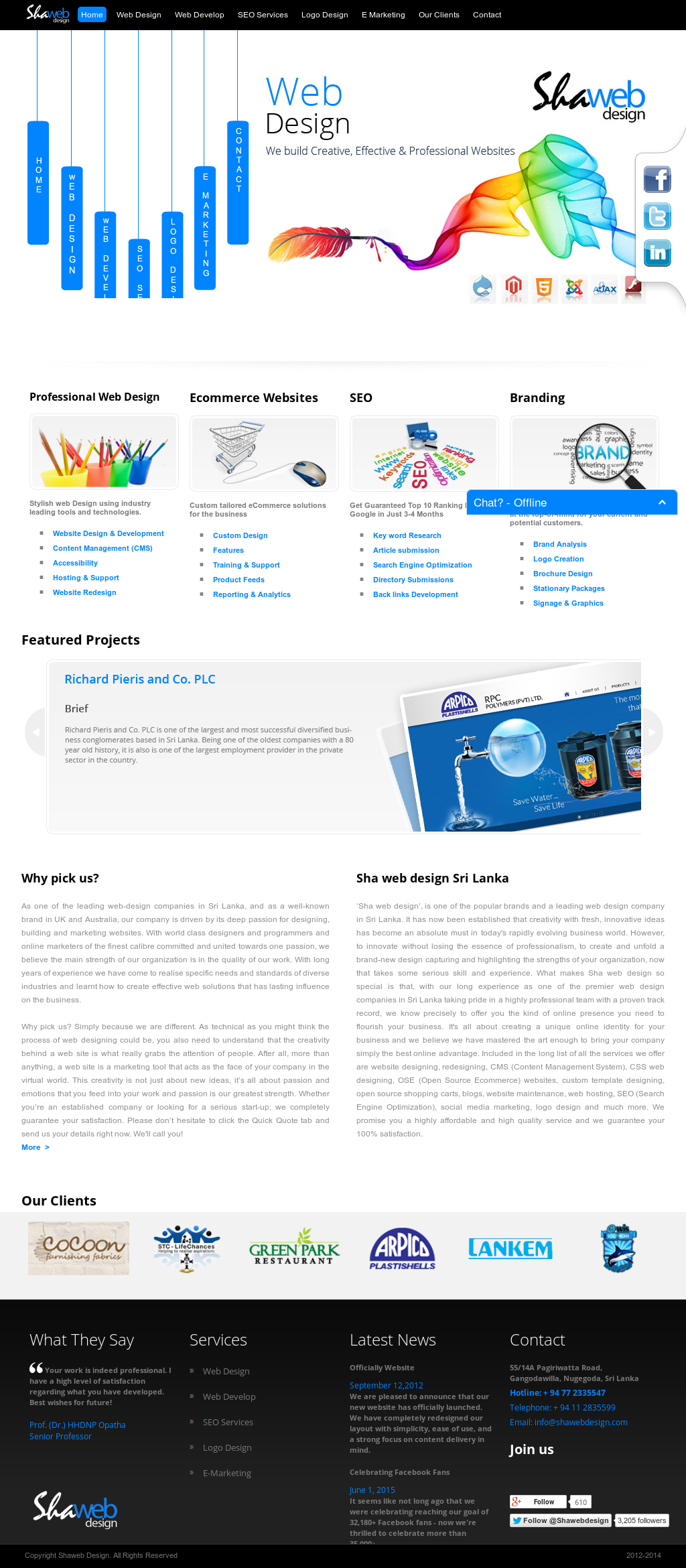 Sha Web Design Competitors, Revenue and Employees - Owler