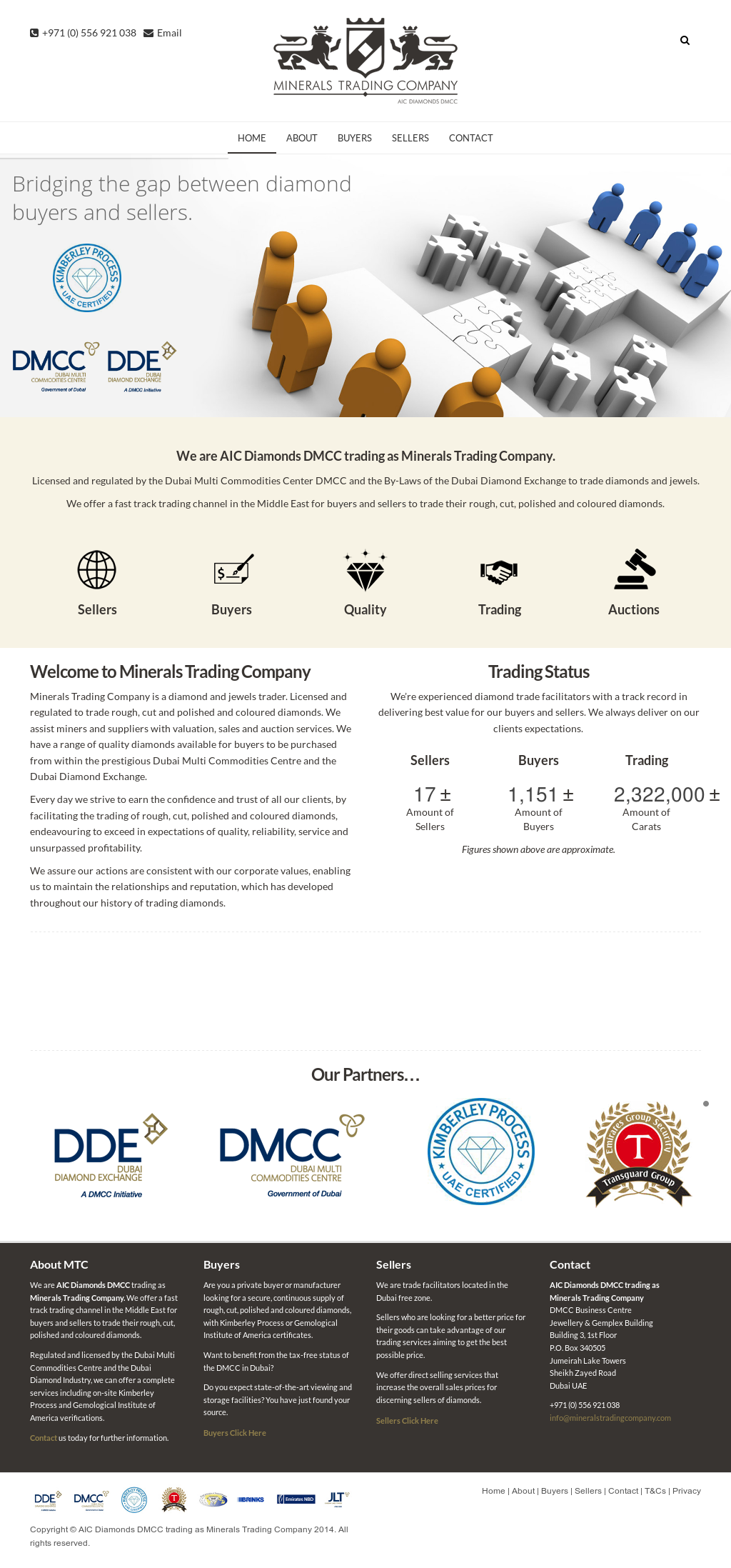Aic Diamonds Dmcc Trading As Minerals Trading Company Competitors