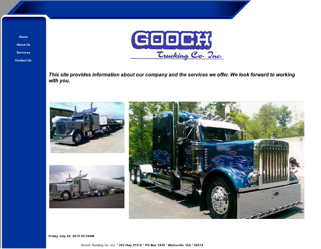 how to find trucking company profile