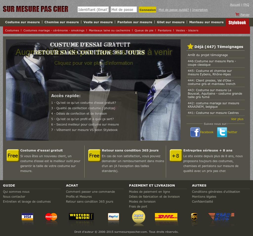 Surmesurepascher Competitors Revenue And Employees Owler