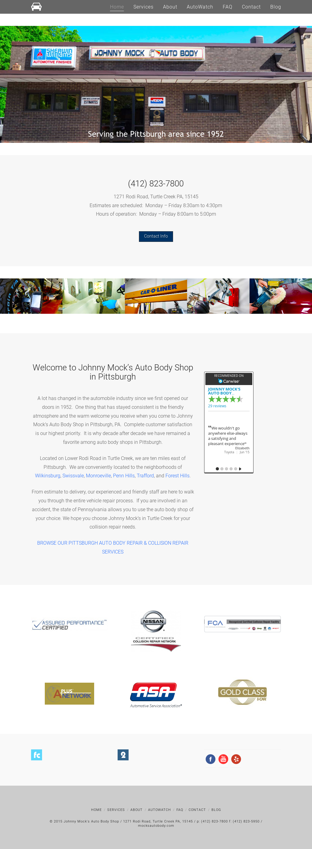 Johnny Mock S Auto Body Shop Competitors Revenue And Employees