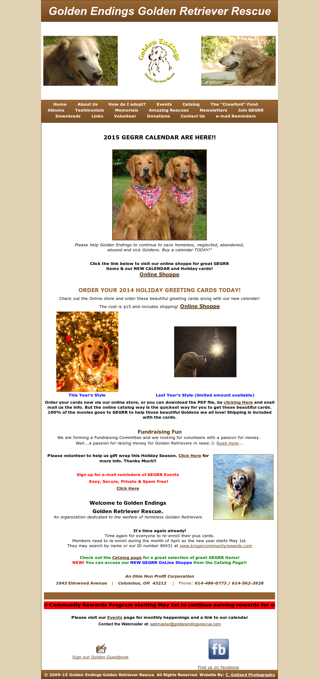 Golden Endings Golden Retriever Rescue Competitors, Revenue and