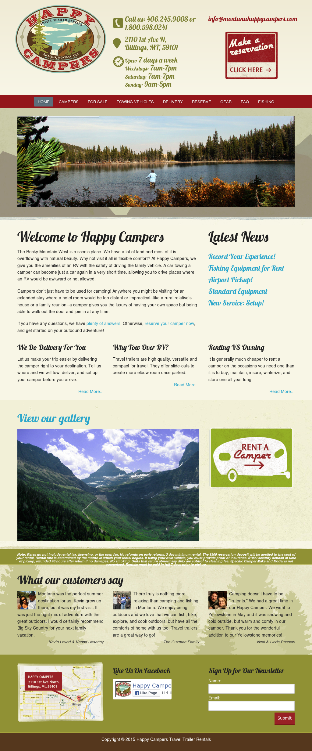 Montanahappycampers Competitors, Revenue and Employees
