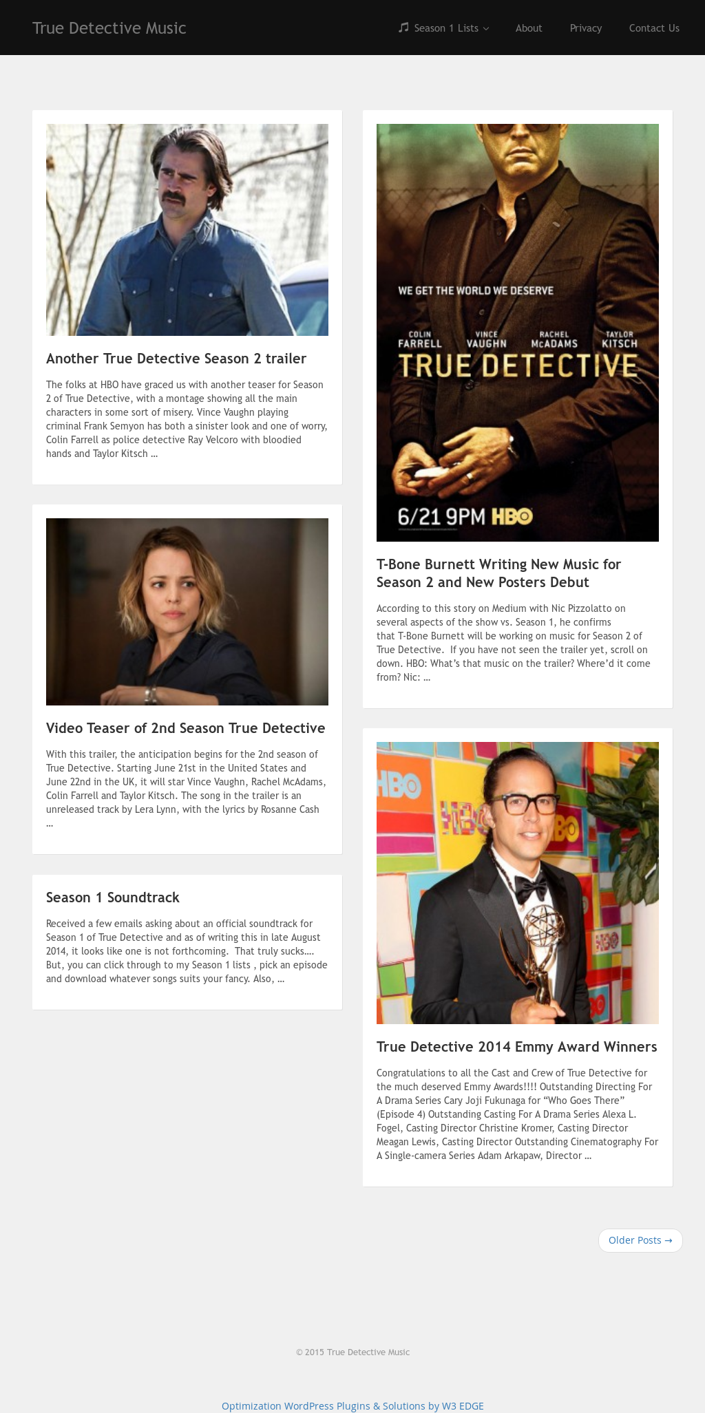 True Detective Music Competitors, Revenue and Employees