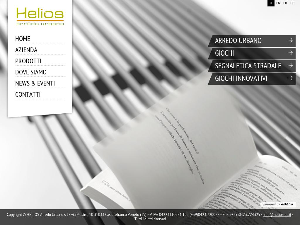 Helios arredo urbano srl competitors revenue and employees
