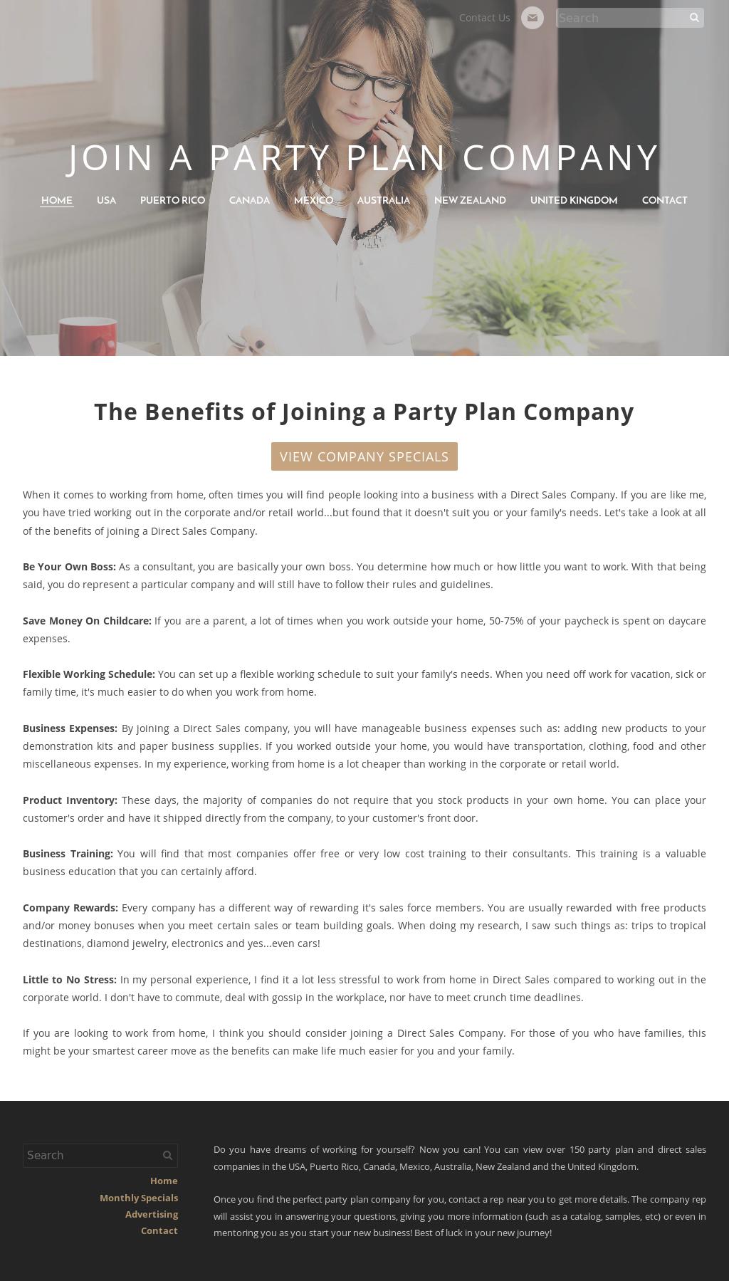 party plan business australia