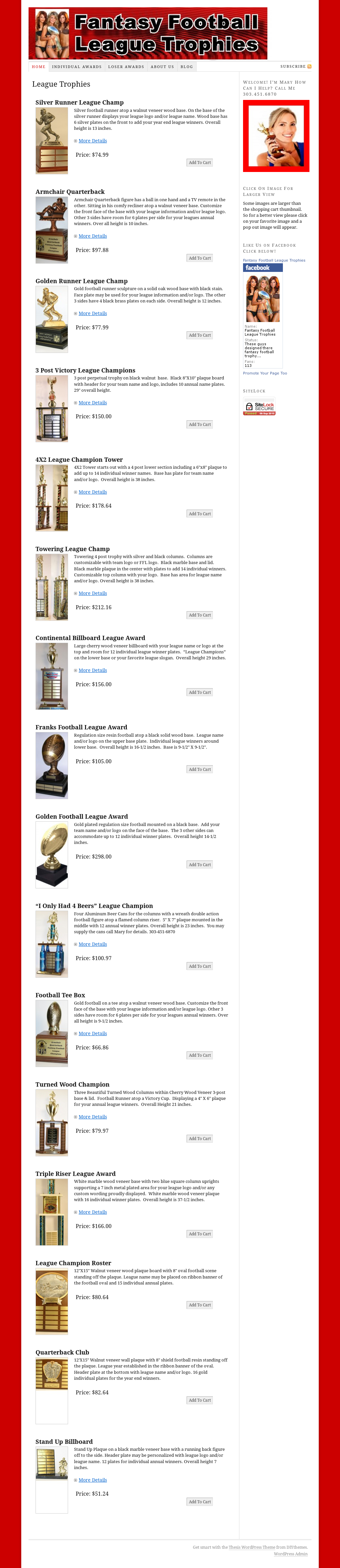 Fantasy Football League Trophies Competitors Revenue And Employees Owler Company Profile