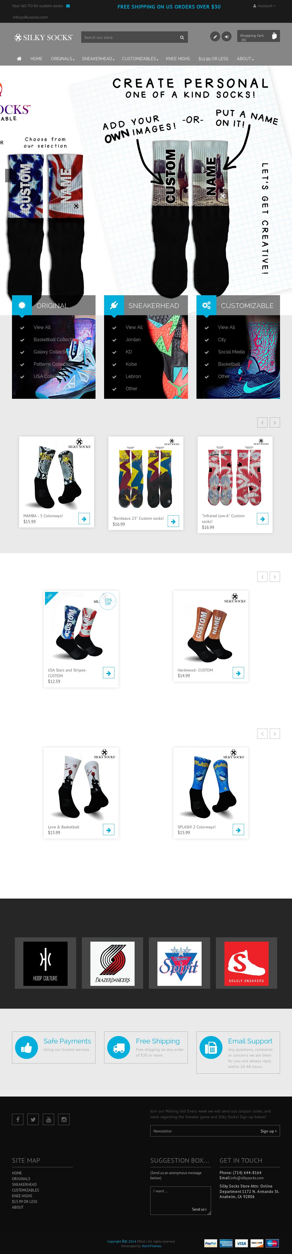223af2ab714d67 Silky Socks Competitors