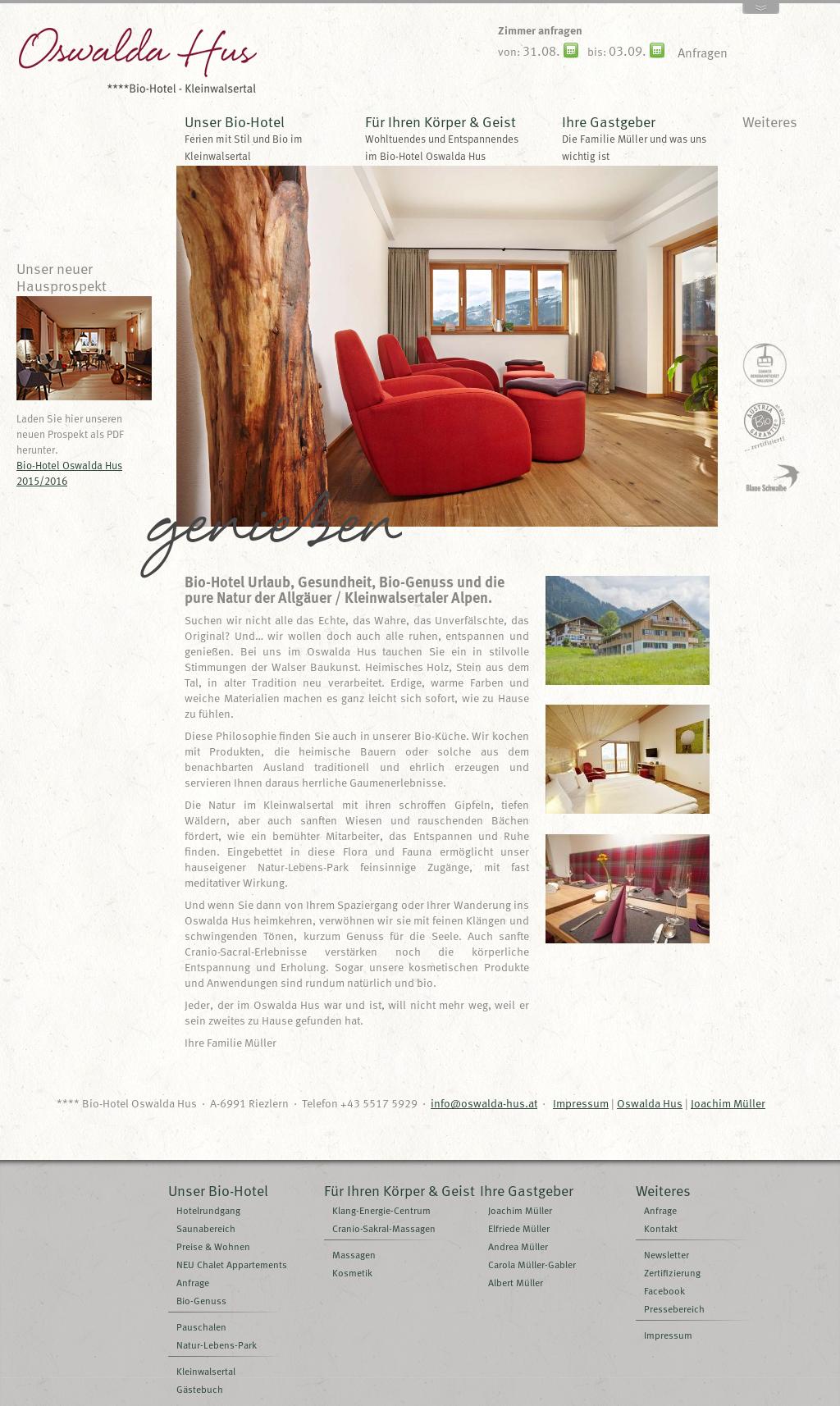 Bio-hotel Oswalda Hus Competitors, Revenue and Employees - Owler ...