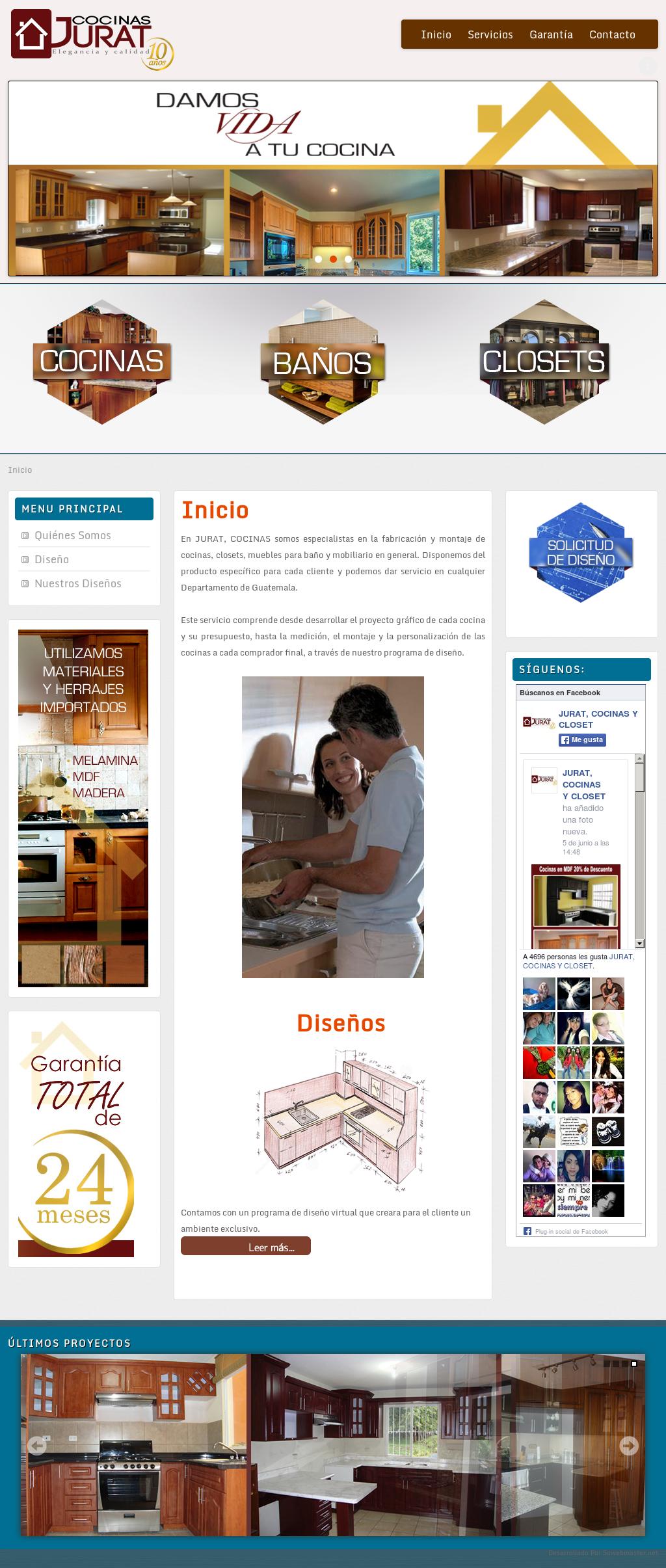 Jurat, Cocinas Y Closet Competitors, Revenue and Employees