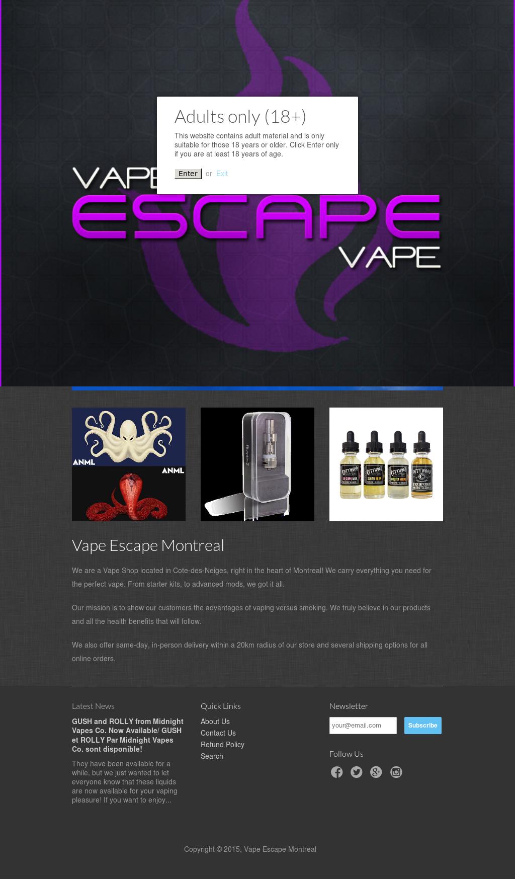 Escape Vape