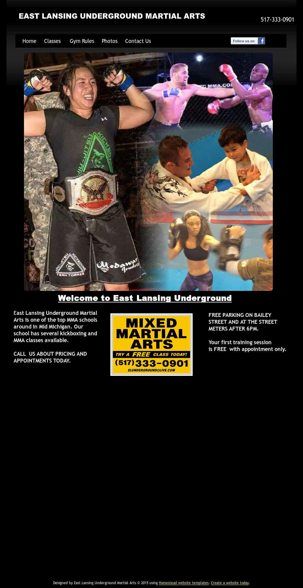 East Lansing Underground Mma Competitors, Revenue and