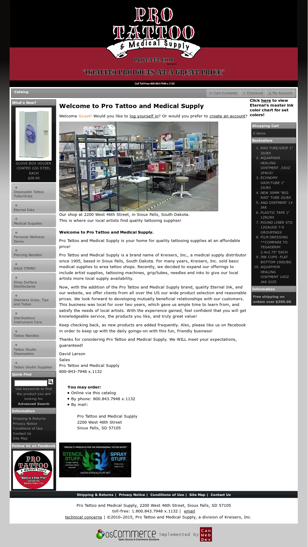 Pro Tattoo And Medical Supply Competitors Revenue And Employees