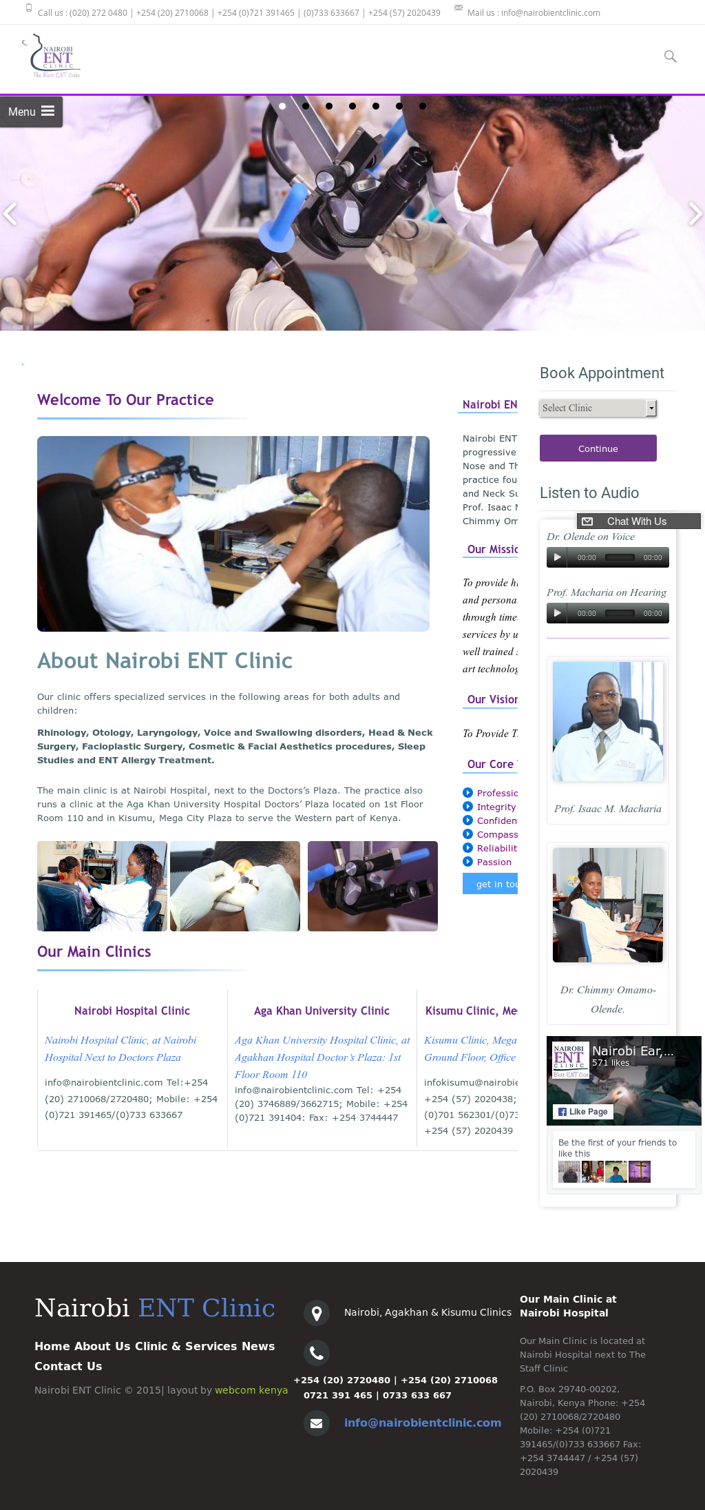 Nairobi Ent Clinic Competitors, Revenue and Employees - Owler