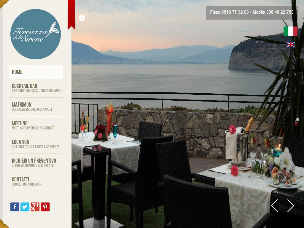Terrazza Delle Sirene Competitors Revenue And Employees