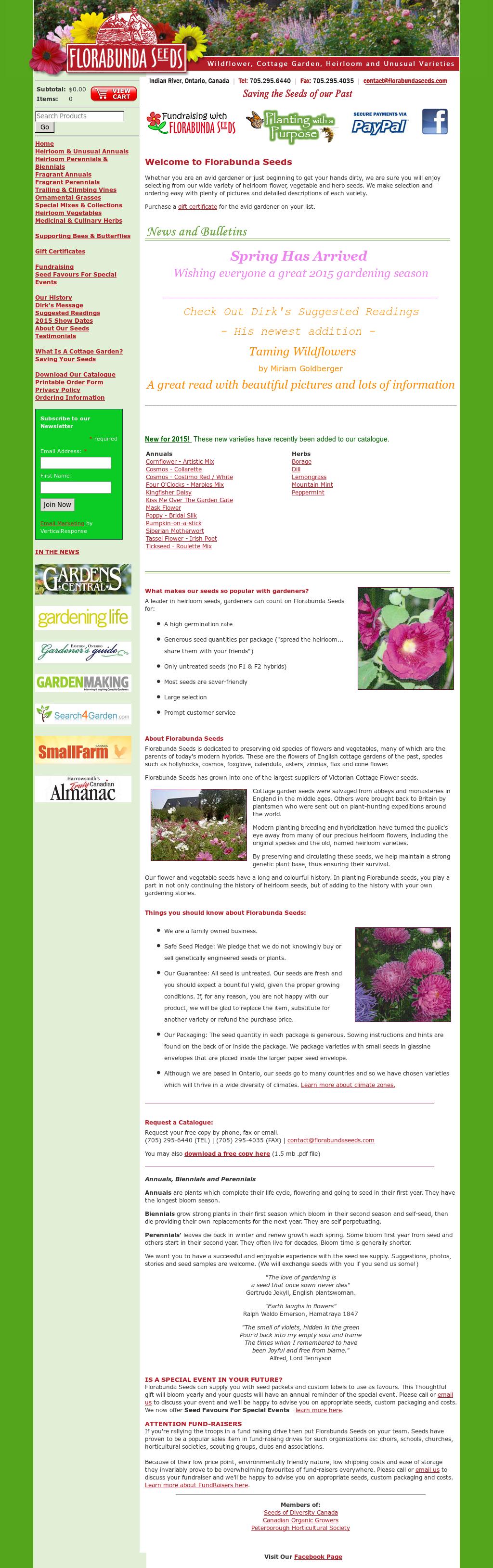 Florabunda Seeds Competitors, Revenue and Employees - Owler