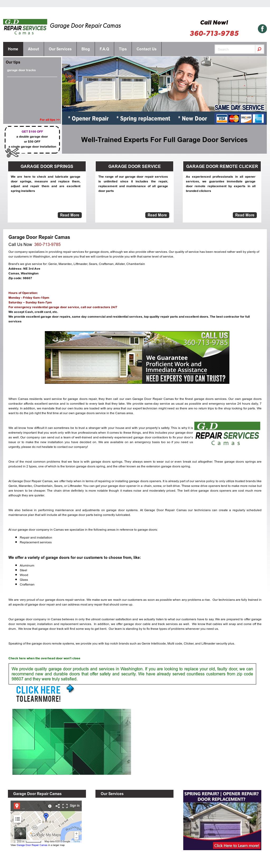 Repair Garage Door Camas Competitors Revenue And Employees Owler