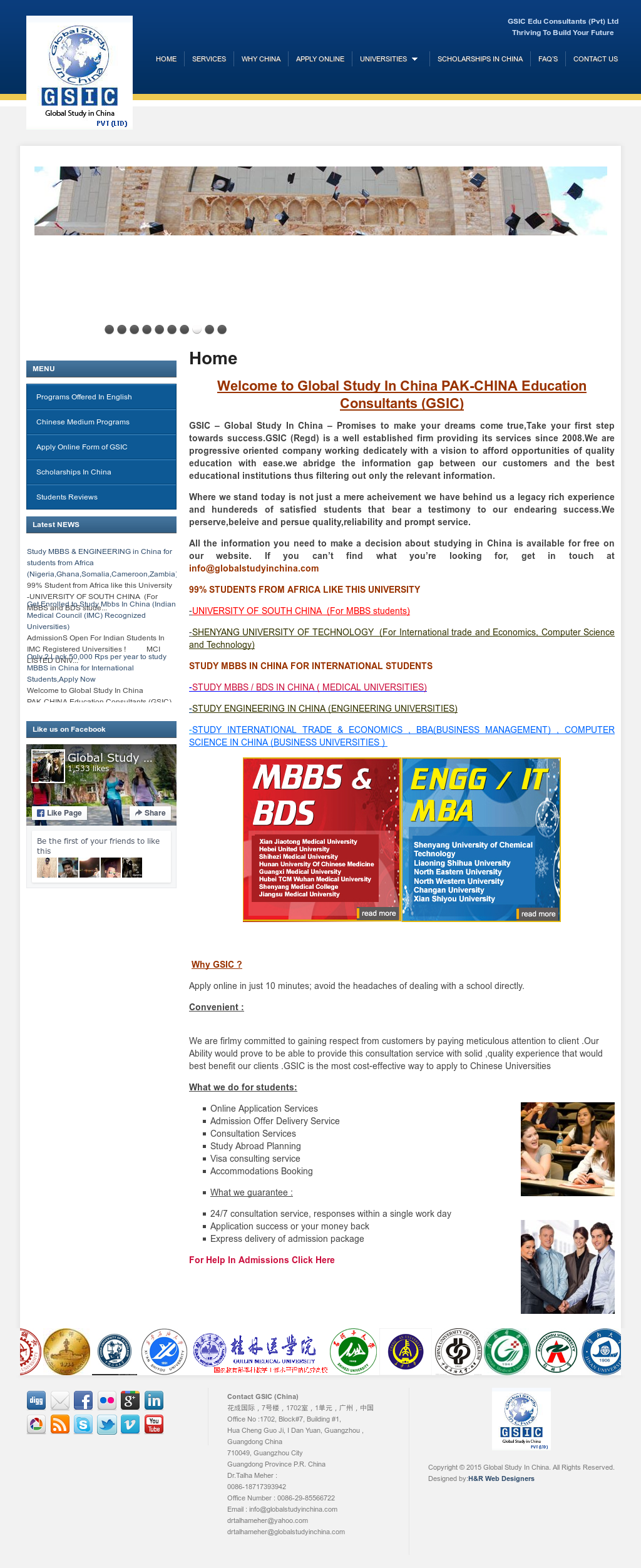 Global Study Engineering And Mbbs In China (Dr  Talha Meher