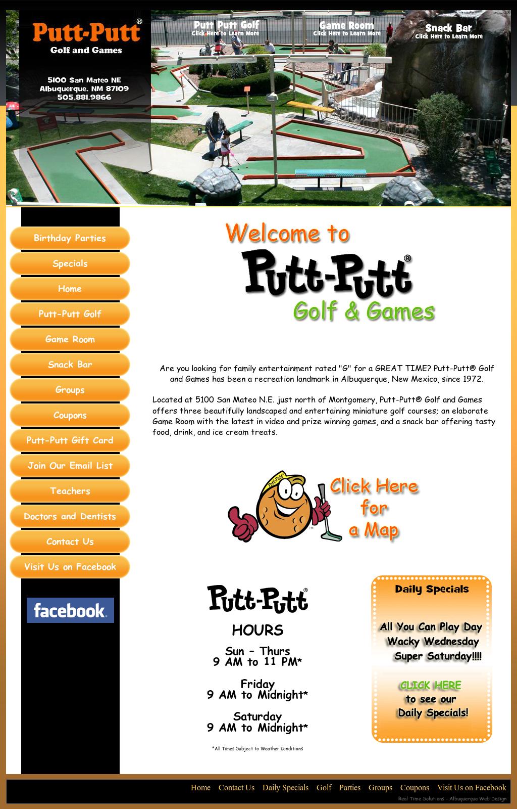 Putt Putt Golf And Games, Albuquerque Nm Competitors