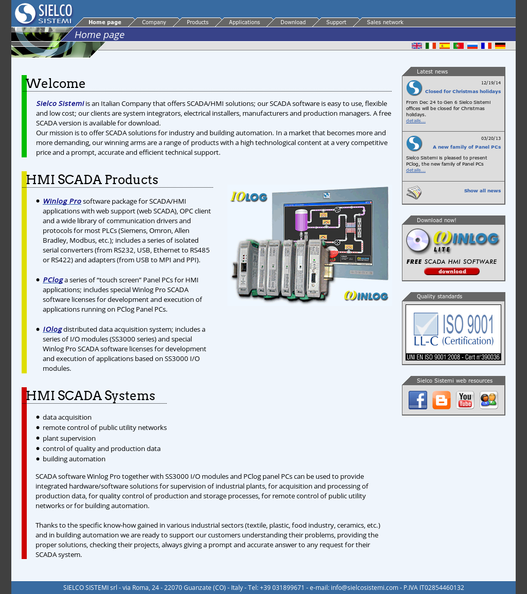 Sielco Sistemi - Scada Software For Industrial And Building