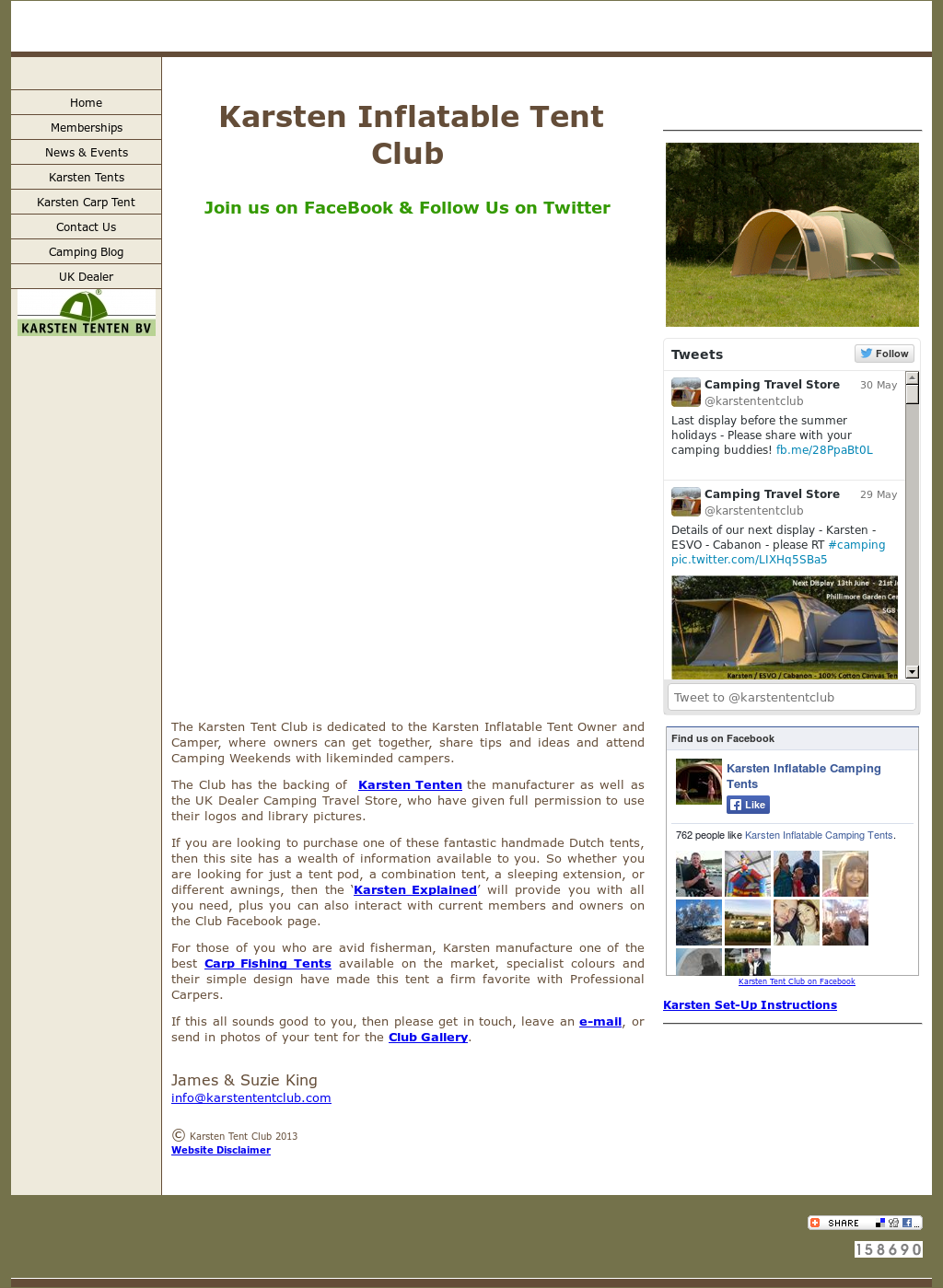 Karsten Inflatable Camping Tents Competitors, Revenue and Employees