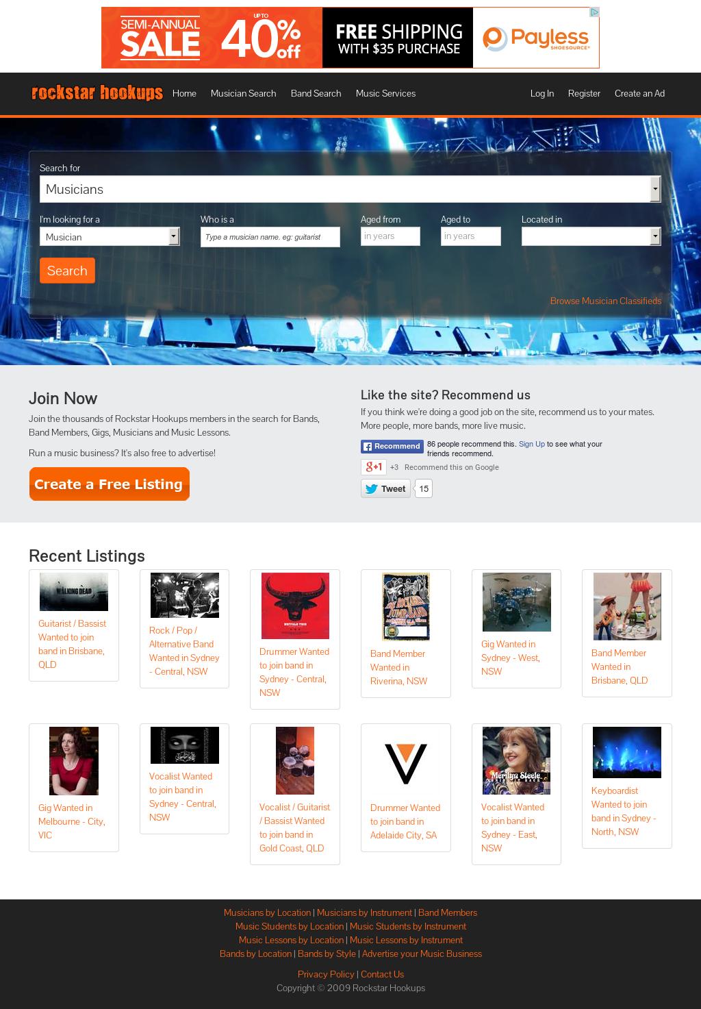 hookups website