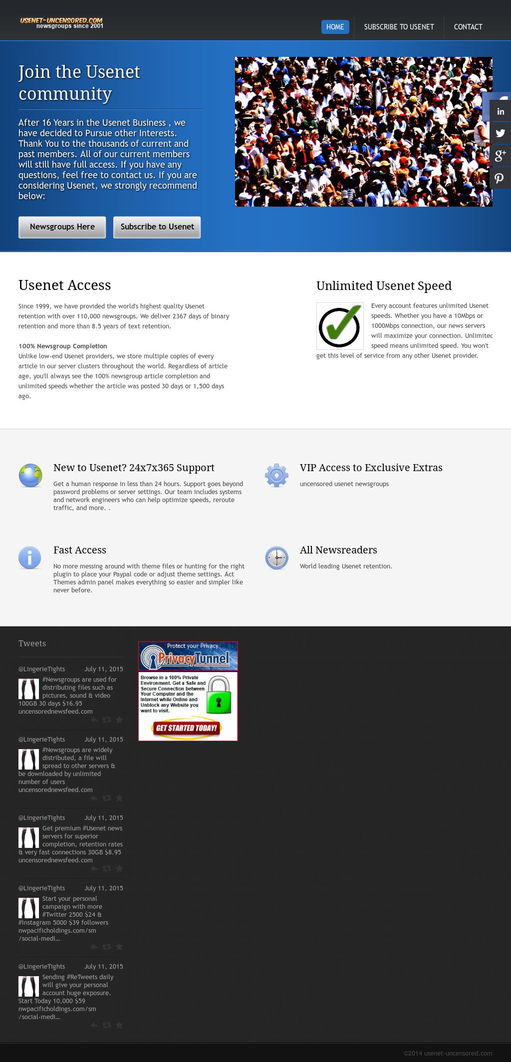 Usenet Uncensored Competitors, Revenue and Employees - Owler Company