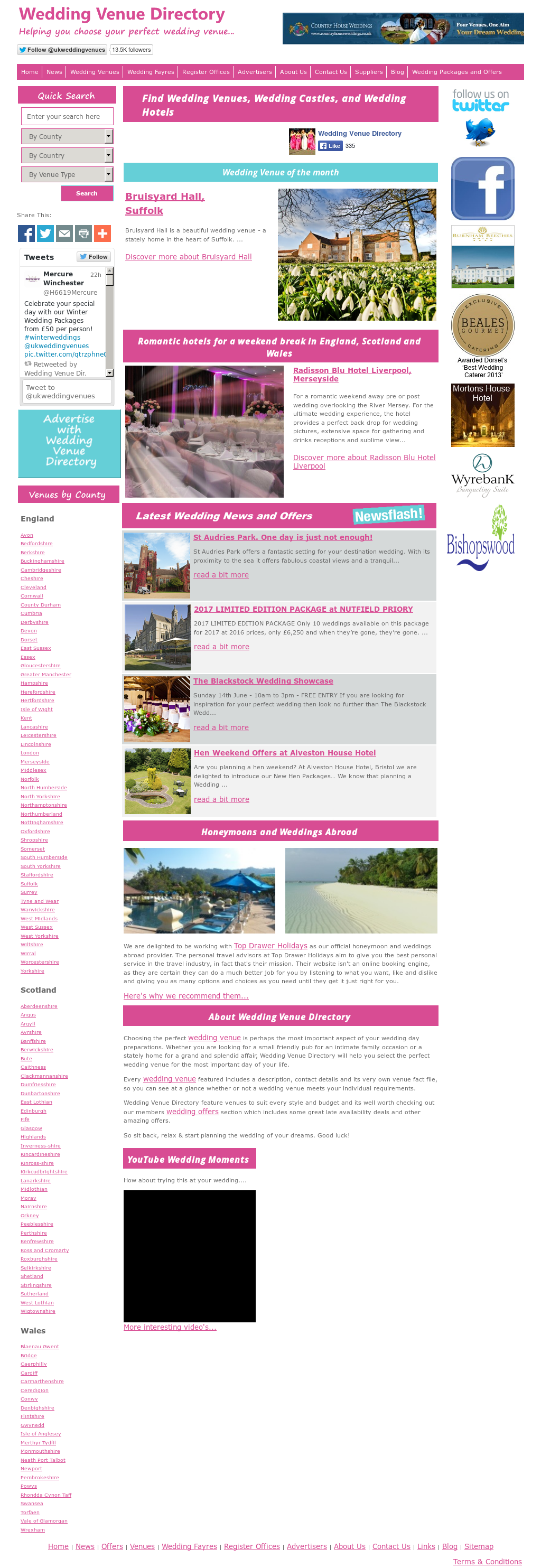 Wedding Venue Directory Competitors, Revenue and Employees - Owler