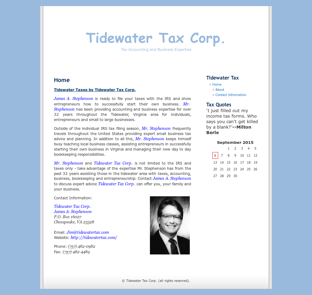 Tidewater Tax Competitors, Revenue and Employees - Owler