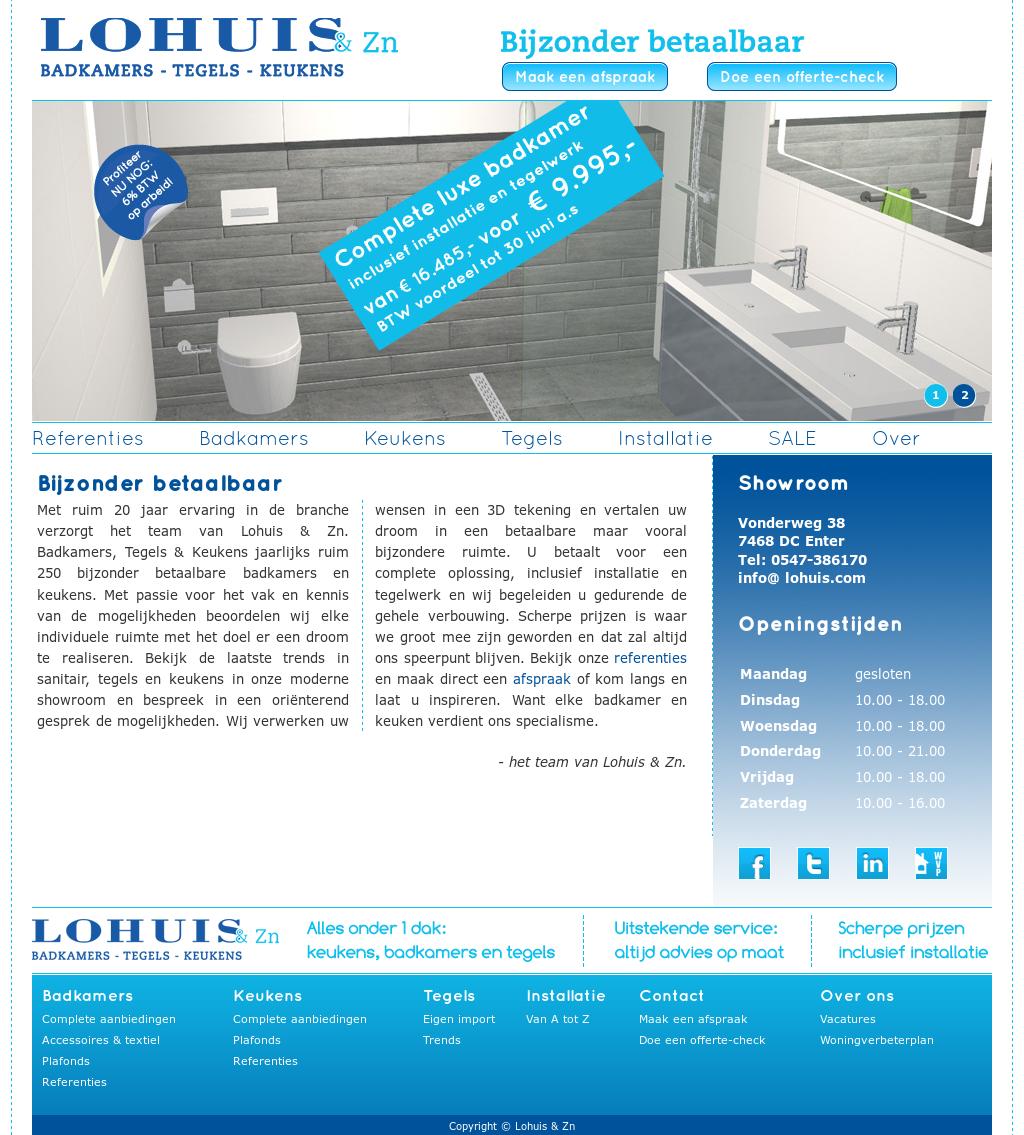 Mooihuis 2018 » lohuis badkamers | Mooihuis