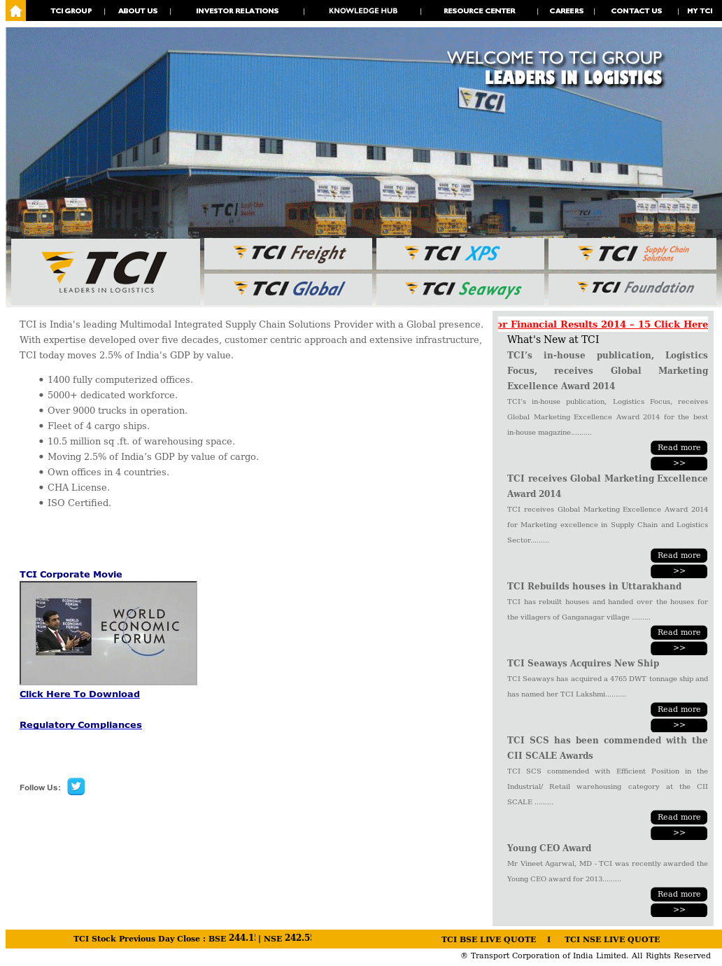TCI Competitors, Revenue and Employees - Owler Company Profile