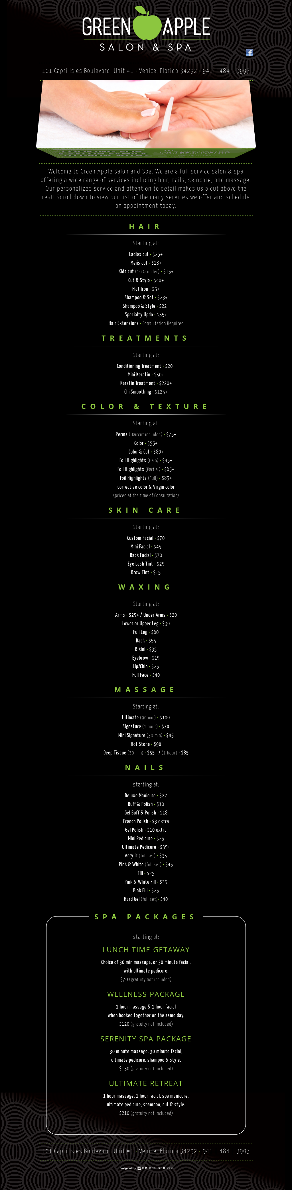 Green Apple Salon & Spa Competitors, Revenue and Employees