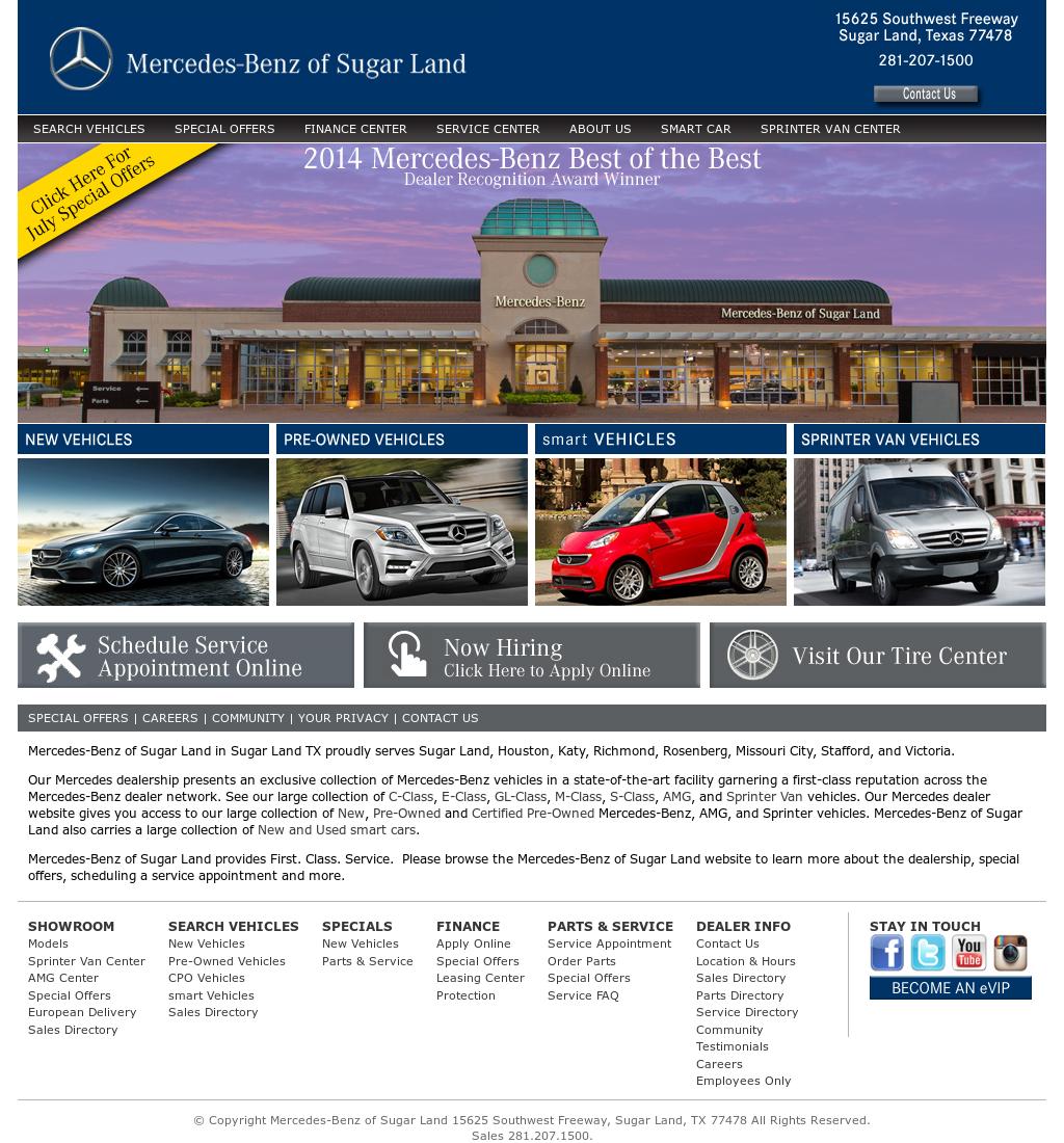 Mercedes Benz Sugarland Service >> Mercedes Benz Of Sugar Land Competitors Revenue And