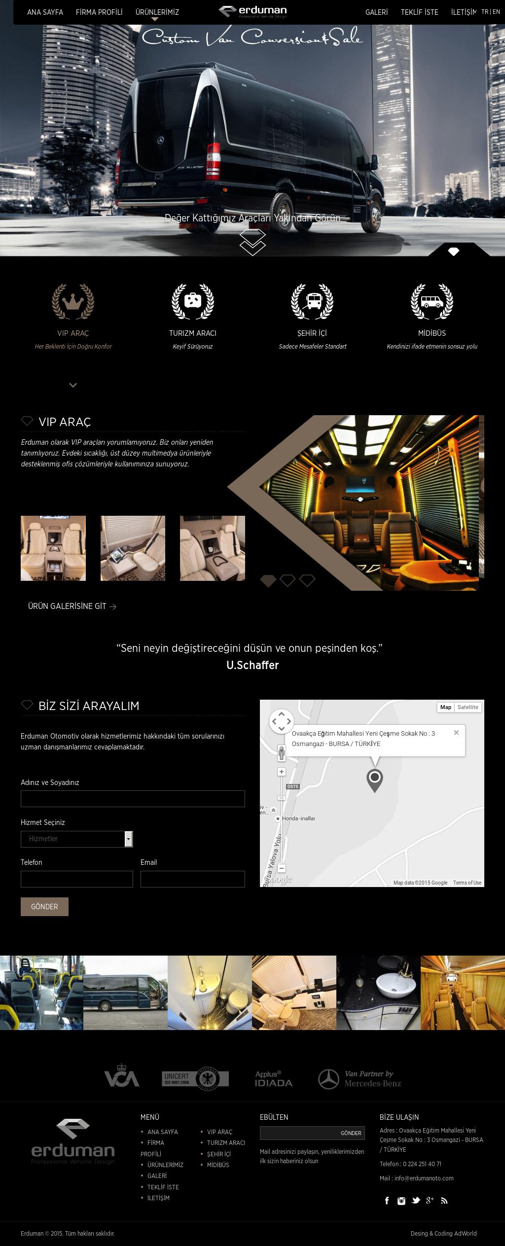 Erduman Automotive Van Conversion Competitors, Revenue and