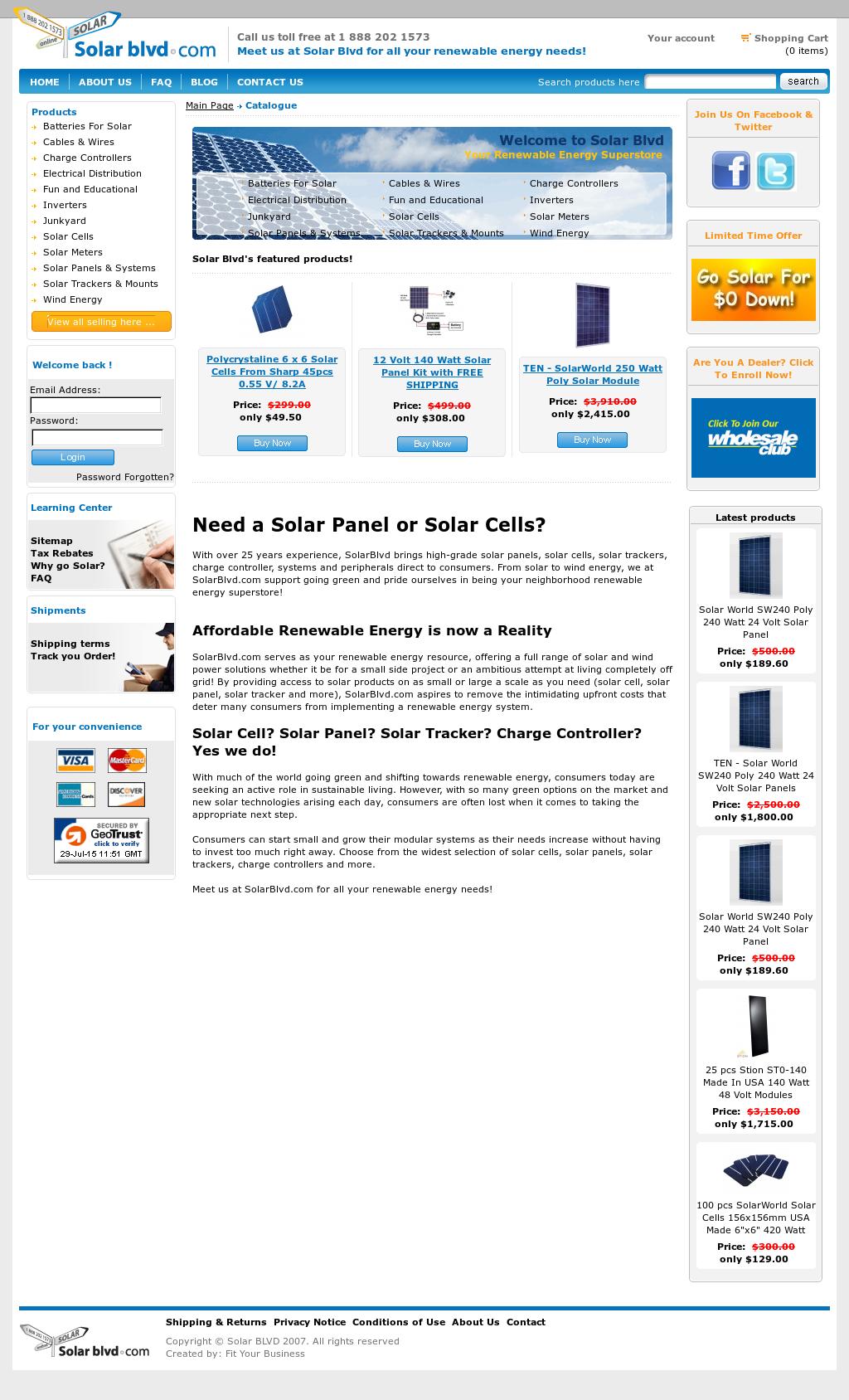 Solar Blvd Competitors, Revenue and Employees - Owler Company Profile