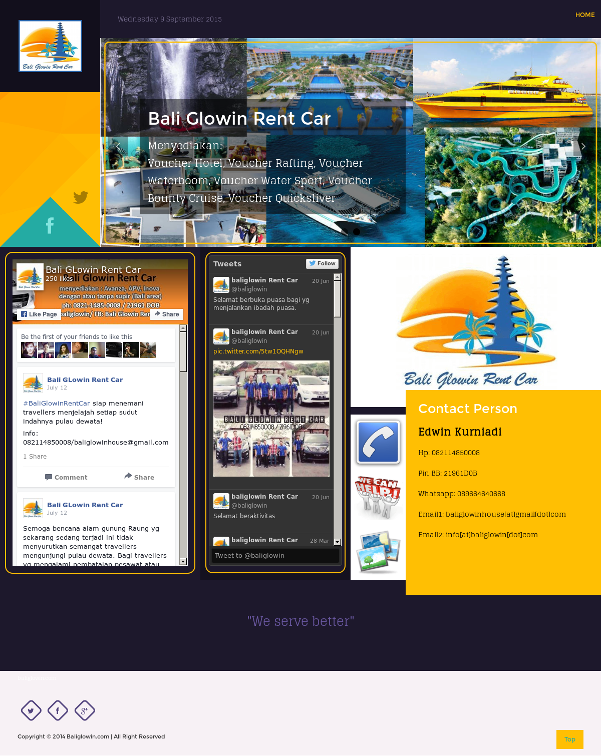 Bali Glowin Rent Car Competitors Revenue And Employees Owler Voucher Waterboom Company Profile