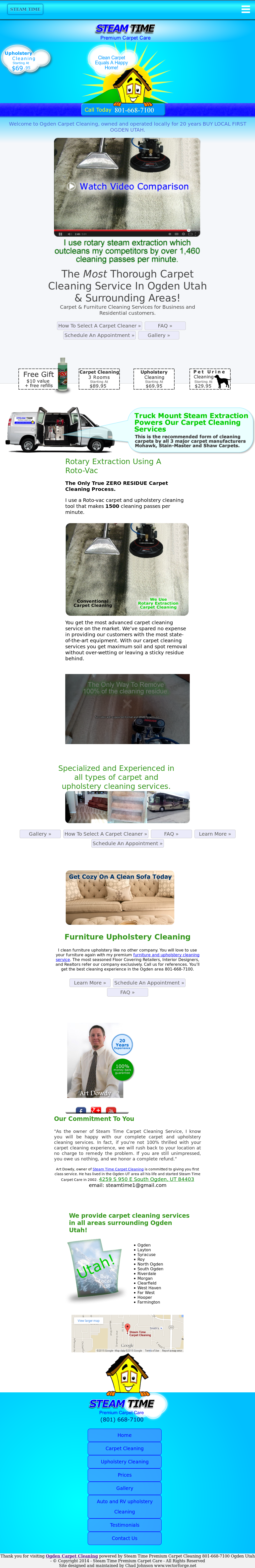 Steam Time Carpet Cleaning Competitors Revenue And