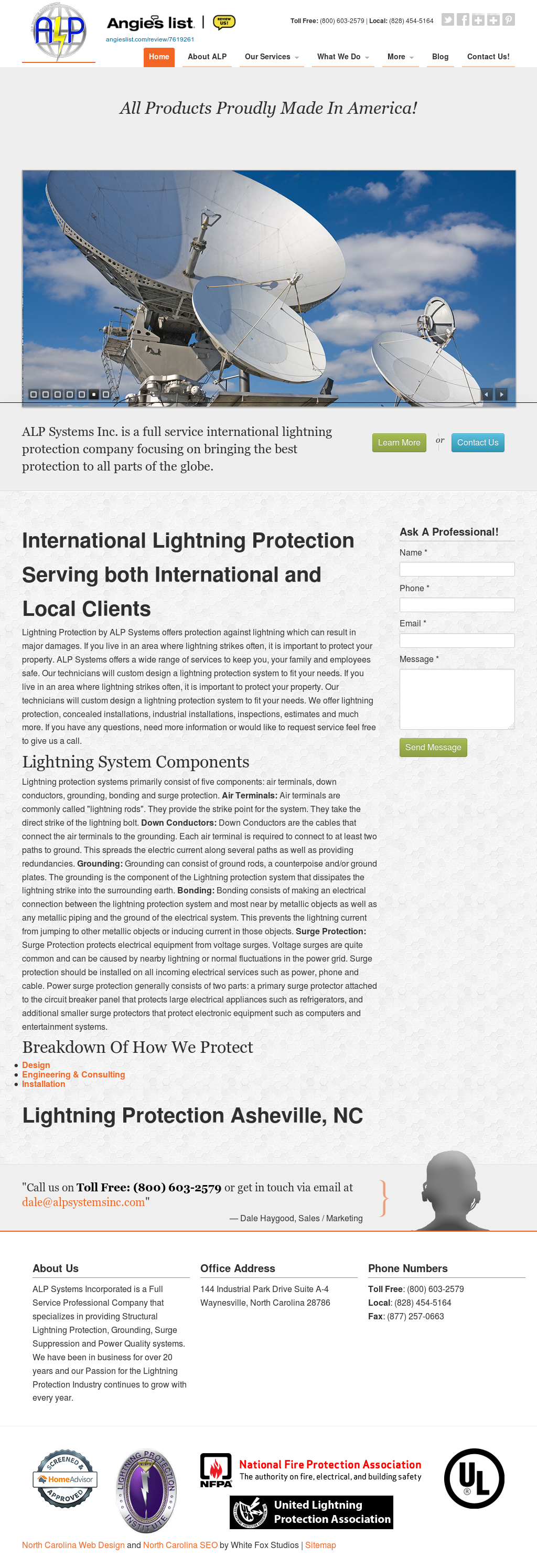 Alp Systems -lightning Protection & Power Quality Engineers