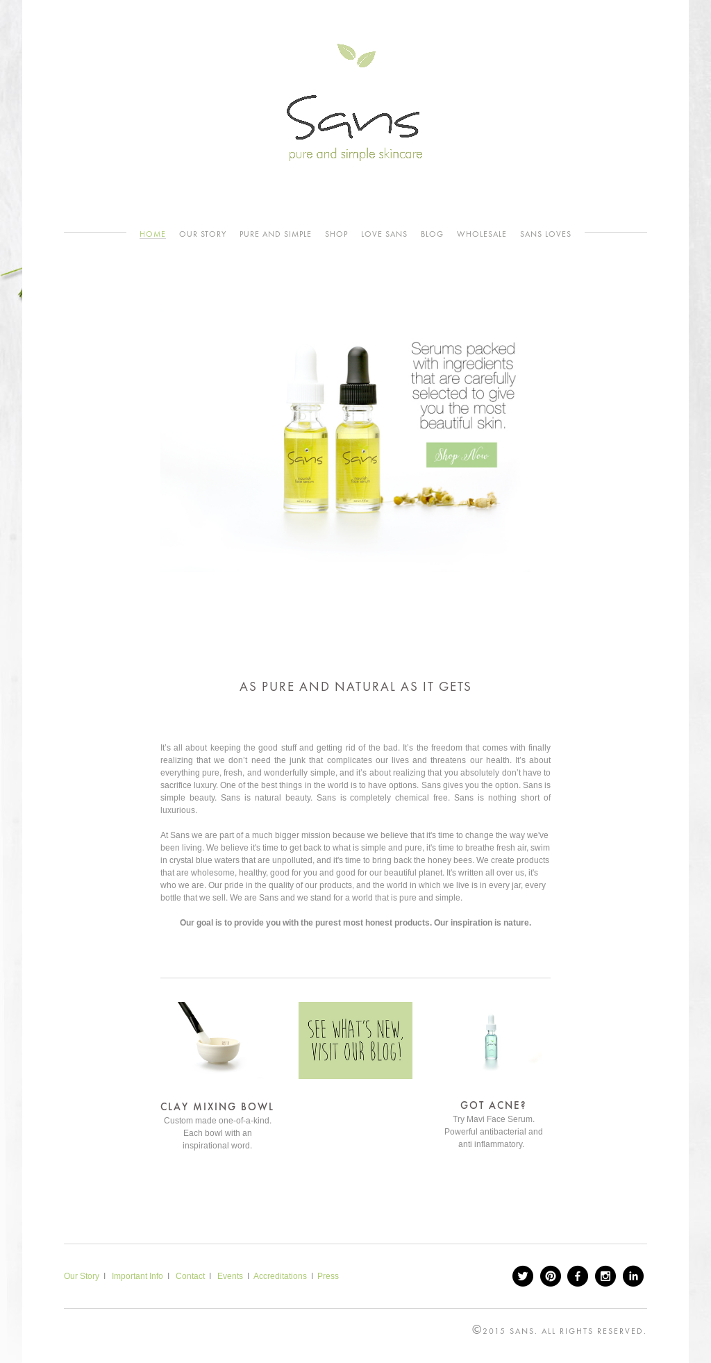 Sans - Skincare Without Chemicals Competitors, Revenue and Employees