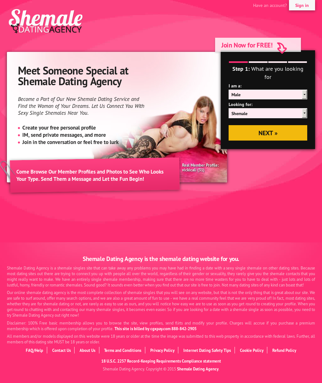 Shemale dating sites in Sydney