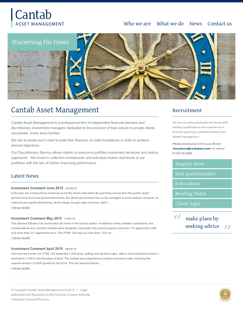 Cantab Asset Management Competitors, Revenue and Employees