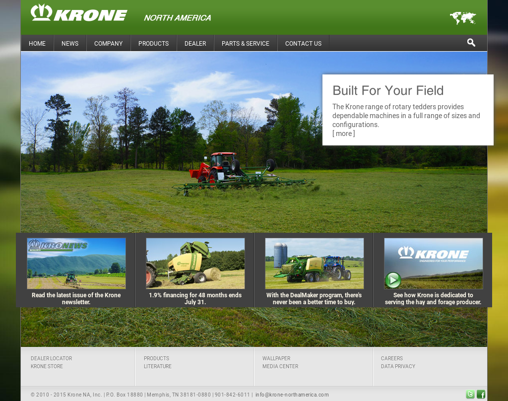 Krone North America Competitors, Revenue and Employees