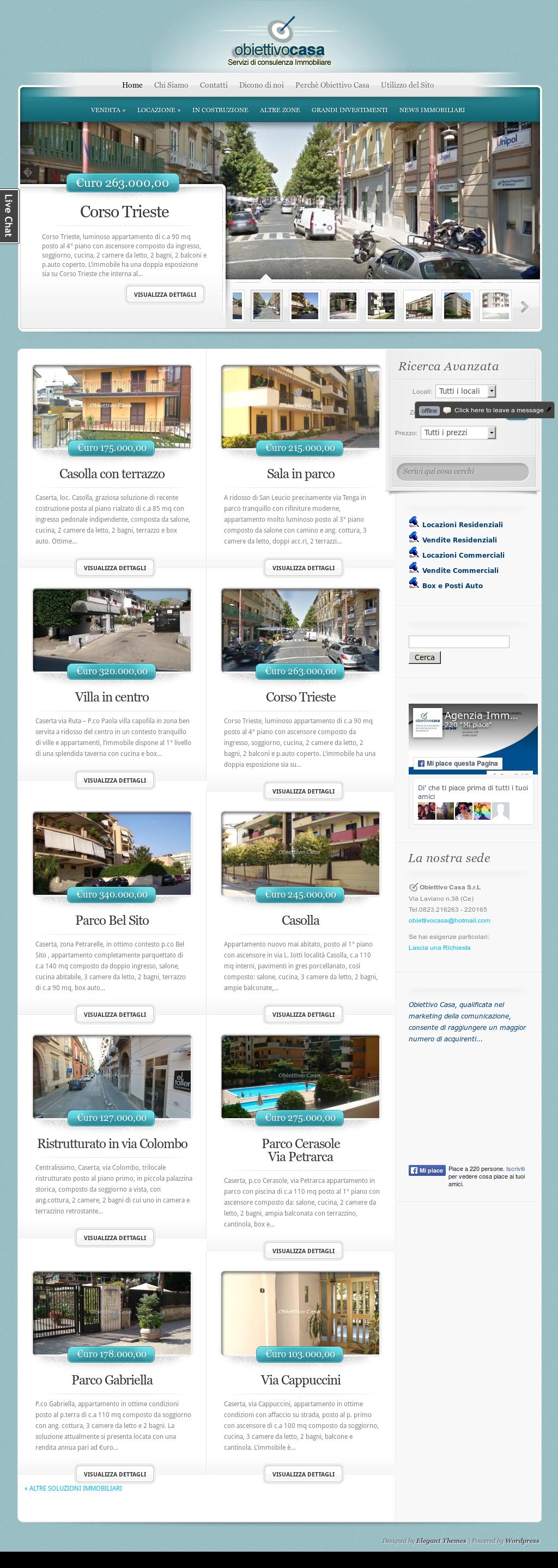 Agenzia Immobiliare Obiettivo Casa Caserta Competitors